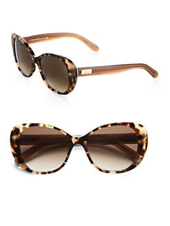 Kate Spade New York - Dorianne Plastic Oval Sunglasses