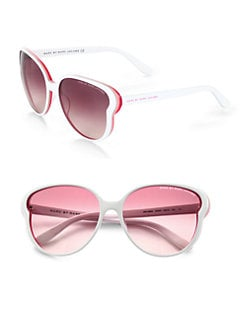 Marc by Marc Jacobs - Oversized Plastic Round Sunglasses