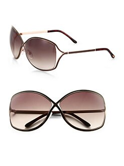 Tom Ford Eyewear - Rickie Oversized Oval Sunglasses