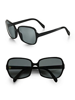 Oliver Peoples - Francisca Square Sunglasses/Black