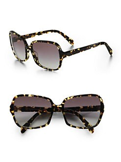 Oliver Peoples - Francisca Sunglasses/Dark Tortoise Brown