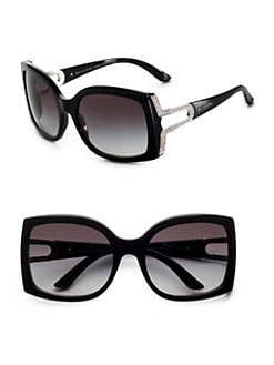 BVLGARI - Crystal Open-Temple Sunglasses
