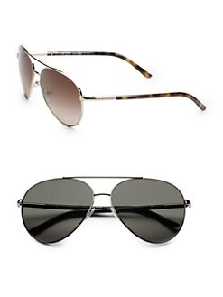 Prada - Round Aviator Sunglasses