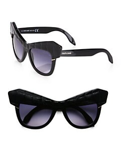 Roberto Cavalli - Wild Diva Croc Cat's-Eye Sunglasses