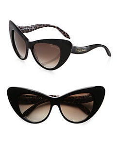 Roberto Cavalli - Lohifushi Retro Cat's-Eye Sunglasses