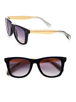 Marc by Marc Jacobs - Havana Square Wayfarer Sunglasses