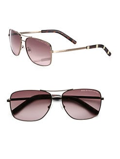 Marc by Marc Jacobs - Metal Square Navigator Sunglasses