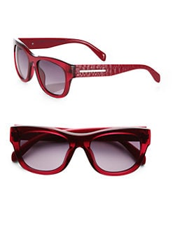 Marc by Marc Jacobs - Dragon Scale Square Acetate Sunglasses