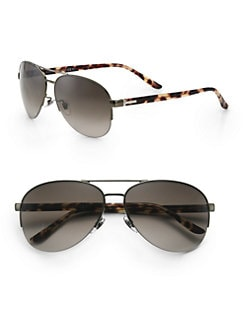 Gucci - Oversized Aviator Sunglasses
