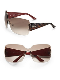 Dior - Rimless Shield Sunglasses