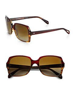 Oliver Peoples - Helaine Square Acetate Sunglasses