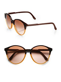 Stella McCartney - Oversized Round Acetate Sunglasses