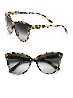 Stella McCartney - Butterfly Acetate Cat's-Eye Sunglasses