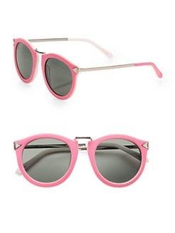 Karen Walker - Harvest Round Acetate Sunglasses