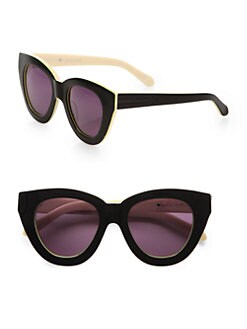 Karen Walker - Anytime Cat-Eye Acetate Sunglasses