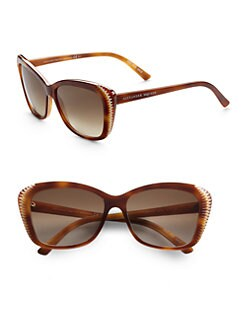 Alexander McQueen - Oversized Cat's-Eye Sunglasses