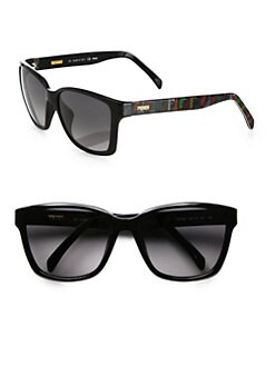 Fendi - Technicolor Logo Wayfarer Sunglasses