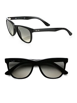 Ray-Ban - Oversized Flat-Top Wayfarer Sunglasses