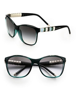 BVLGARI - Ruffle Temple Cat's-Eye Sunglasses