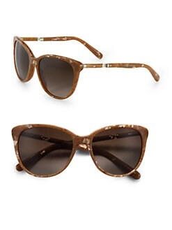 Dolce & Gabbana - Round Cat's-Eye Acetate Sunglasses