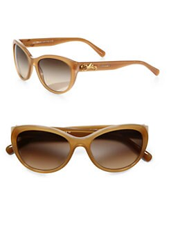 Dolce & Gabbana - Rose Embellished Cat's-Eye Sunglasses