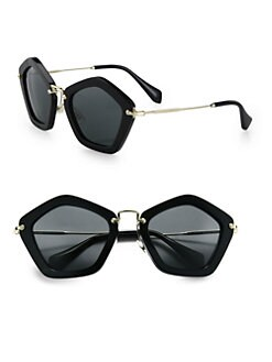 Miu Miu - Extreme Star Square Sunglasses