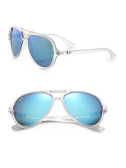 Ray-Ban - Cats 5000 Plastic Aviator Sunglasses