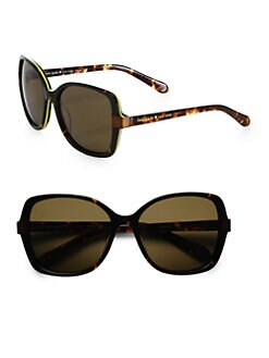 Kate Spade New York - Adamina Acetate Polarized Sunglasses