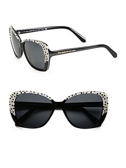 Kate Spade New York - Brenna Polarized Acetate Cat's-Eye Sunglasses