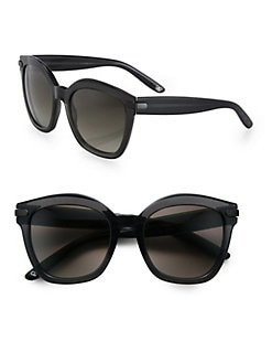 Bottega Veneta - Round Cat's-Eye Acetate Sunglasses