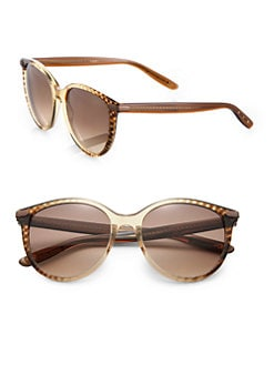 Bottega Veneta - Round Acetate Sunglasses