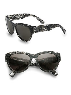 Dior - Flanelle Acetate Cat's-Eye Sunglasses