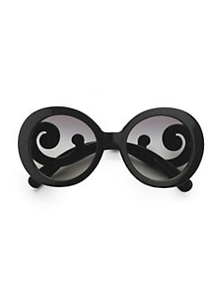 Prada - Baroque Round Sunglasses