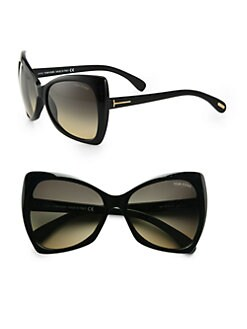 Tom Ford Eyewear - Nico Plastic Cat's-Eye Sunglasses