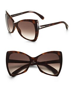 Tom Ford Eyewear - Nico Plastic Sunglasses