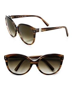 Valentino - Rock Stud Cat's-Eye Round Sunglasses