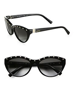 Valentino - Rock Stud Cat's-Eye Sunglasses