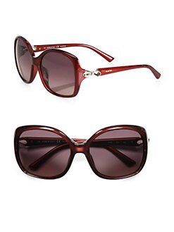 Valentino - Square Bow Sunglasses