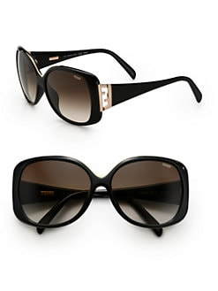 Fendi - Double F Oversized Sunglasses