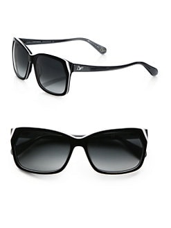 Diane von Furstenberg - Darcee Rectangular Sunglasses