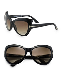 Tom Ford Eyewear - Badot Cat's-Eye Sunglasses