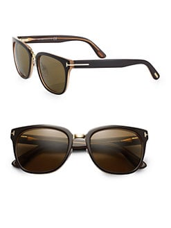 Tom Ford Eyewear - Rock Acetate Oval Wayfarer Sunglasses