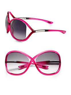 Tom Ford Eyewear - Whitney Oversized Round Crossover Sunglasses