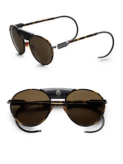 Proenza Schouler - Metal Aviator Sunglasses