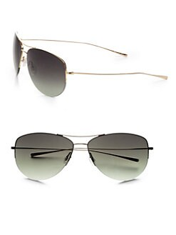Oliver Peoples - Strummer 63 Aviator Sunglasses