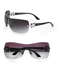 BVLGARI - Metal Shield Sunglasses