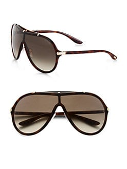 Tom Ford Eyewear - Ace Round Shield Sunglasses