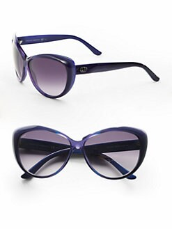 Gucci - Plastic Cat's-Eye Sunglasses