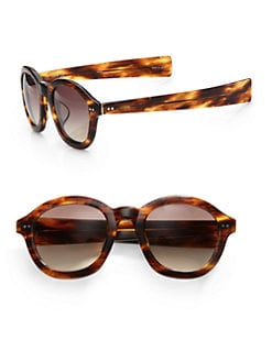 Linda Farrow Luxe - Vintage Semi-Square Sunglasses