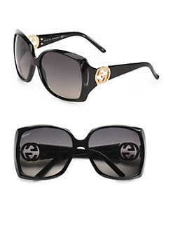 Gucci - Oversized Plastic Square Sunglasses